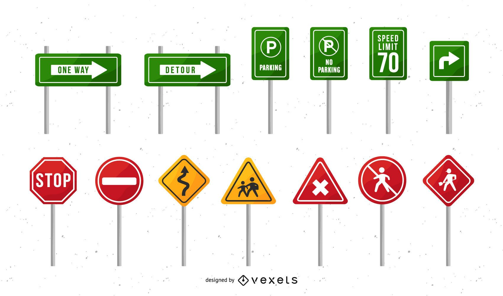 Traffic Sign Design Pack