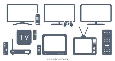 television elements set