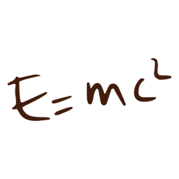 E=mc2 equation doodle