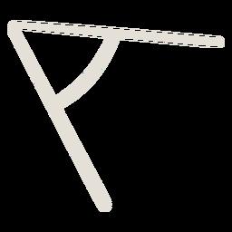 Angle shape doodle