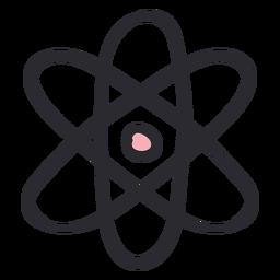 Atom stroke color
