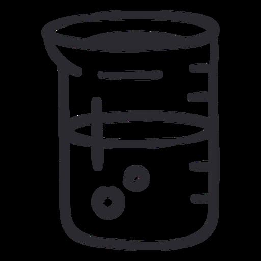 Beaker experiment stroke