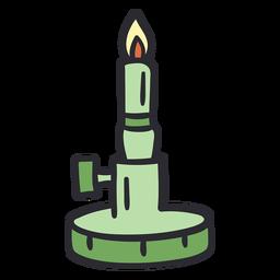Bunsen burner stroke color