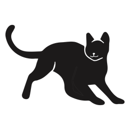 Cat animal silhouette