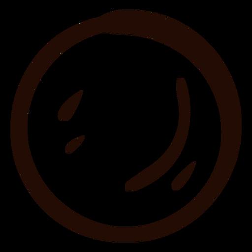Doodle de forma de círculo