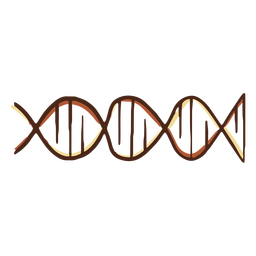 Dna genes illustration