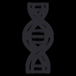 Adn genes accidente cerebrovascular