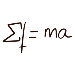 Equation hand drawn