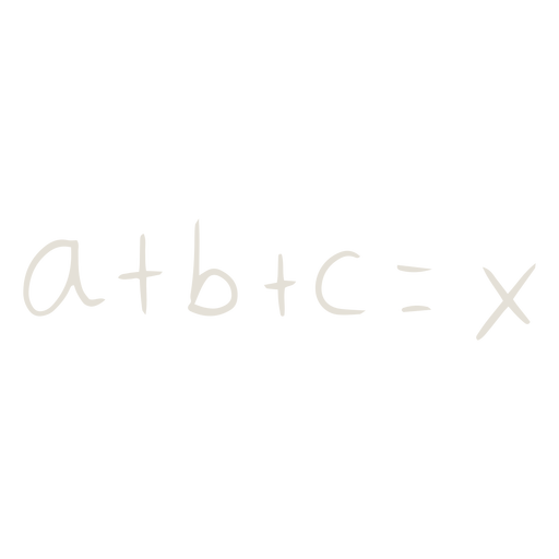 Equation math doodle