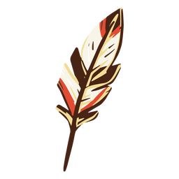 Feather quill illustration