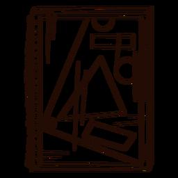 Geometry notebooks hand drawn