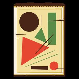 Geometry notebooks illustration