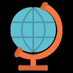 Ícone plana do globo