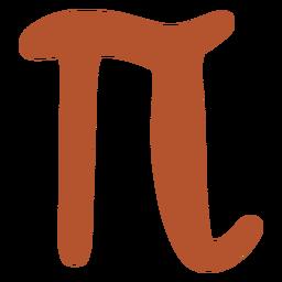 Griego pi plana