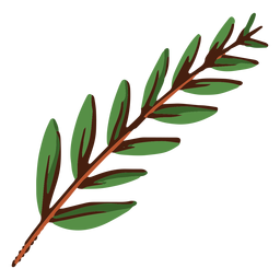 Green leaves illustration