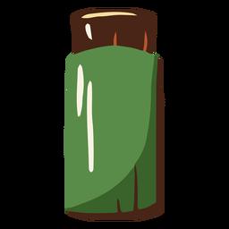 Ilustración de pintura verde