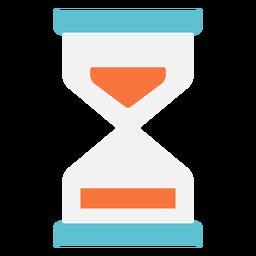 Icono plano de reloj de arena