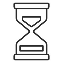 Hourglass stroke icon hourglass