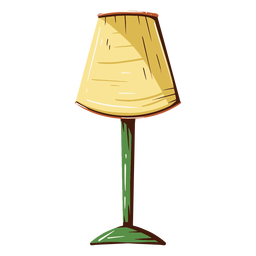 House lamp illustration