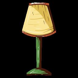 Ilustración de la lámpara de la casa