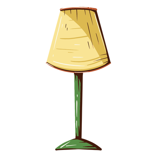 House lamp illustration