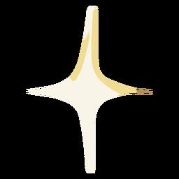 Estrela simples de ilustração