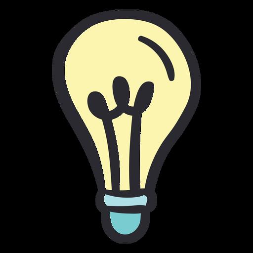 Lightbulb stroke color