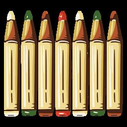 Marker Schule Illustration