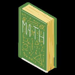 Ilustração de livro de matemática