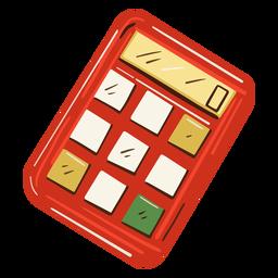 Ilustración de calculadora matemática