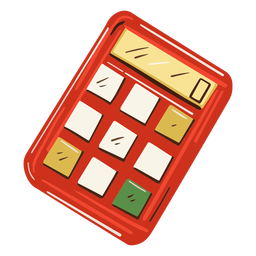 Math calculator illustration
