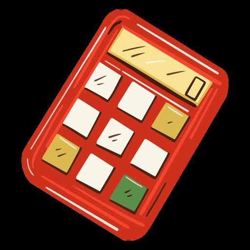 Math calculator illustration Transparent PNG