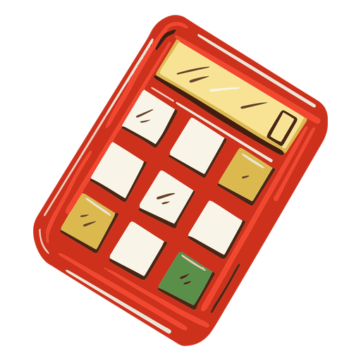 Math calculator illustration