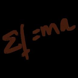 Doodle de ecuación matemática