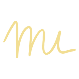 Mi letters doodle