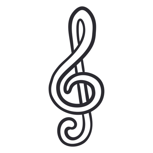 Music note stroke