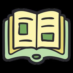 Open school book stroke color