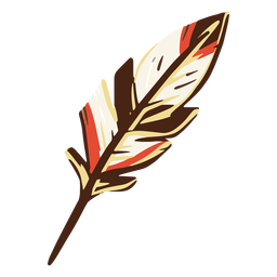 Quill feather illustration