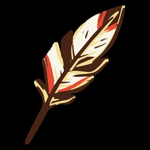 Ilustración de pluma de canilla