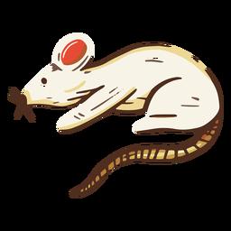 Ilustración animal rata