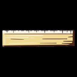 Ruler school illustration