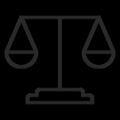 Scale stroke icon