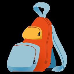 Mochila escolar ilustração mochila