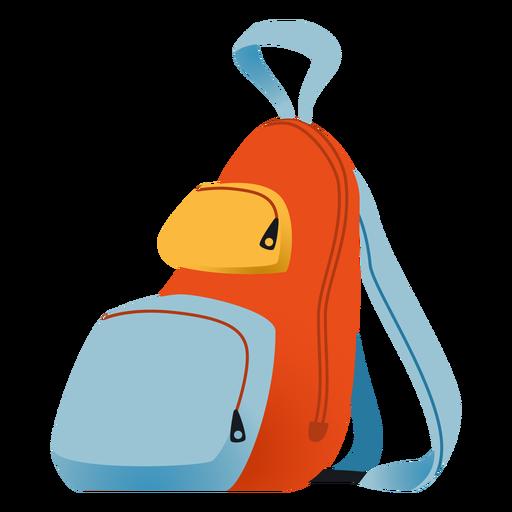 School backpack illustration backpack