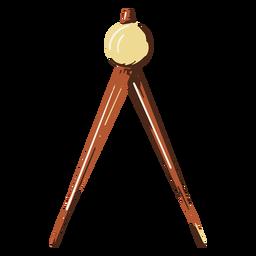 School compass illustration