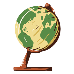 School globe illustration