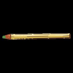 Ilustración de lápiz escolar