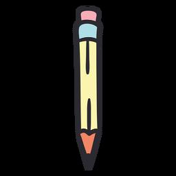 School pencil stroke color