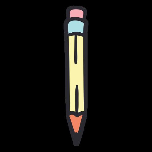 Cor do traço de lápis escolar