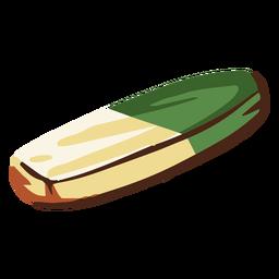 Ilustración de goma de la escuela
